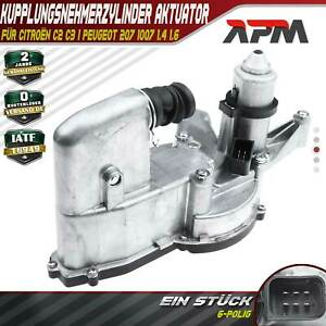 Clutch Slave Cylinder Actuator with Motor For Citroën C2 C3 1.4L