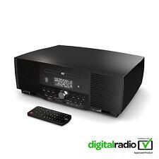Majority DAB FM Radio Player Alarm Clock With Bluetooth Micro HiFi System