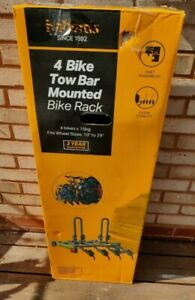 Halfords 4 Bike Towbar Mounted Bike Rack Carrier Free Delivery Now