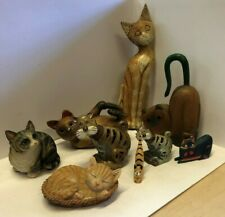 Collection of Cat Ornaments  24C