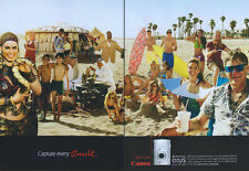 Canon IXUS 860 IS Camera 2008 Magazine Advert #949
