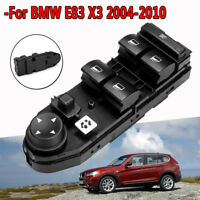 Driver Window Lifter Mirror Switch Control Black Fits For BMW E83 X3