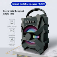 Bluetooth Wireless Speaker Portable Outdoor Super Bass Subwoofer USB TF AUX US