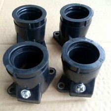 Carb Carburetor Intake Flange Boot Set for Yamaha FZR600 1989-1990 FZR600R 90-99