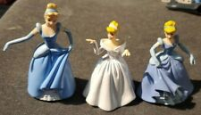 Disney Princess Cinderella Cake Toppers Figures Lot of 3 Different