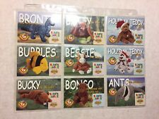 Ty Beanie Baby Trading Cards Complete Set of Series 2 Cards~100 Cards + 8 Trivia