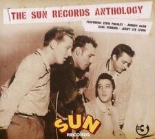 THE SUN RECORDS ANTHOLOGY - JOHNNY CASH, ELVIS PRESLEY, CARL PERKINS - 3 CD NEU