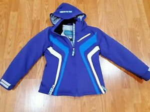 OBERMEYER Girls Juniors size 14 Winter Jacket  SKI/SNOW With removable Hood