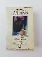 Walt Disney's Fantasia 2 Volume Cassette Set 1990 Remastered Original Soundtrack