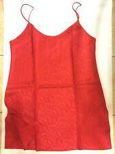 Women Lady Sexy 100% Silk Lace Camisole Chemise Lingerie Sleepwear Nightwear
