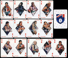 1998 Fremantle Dockers Football Club SET of 13 AFL Footy Stars Playing Cards #1