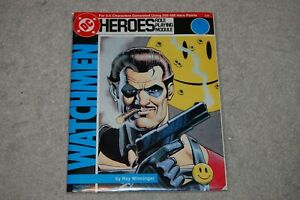 Watchmen - DC Heroes RPG Role Playing Module Mayfair Games #235 RARE HTF