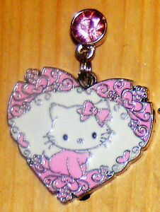 Hello Kitty Heart of mine Pink Cell phone dust cover Plug