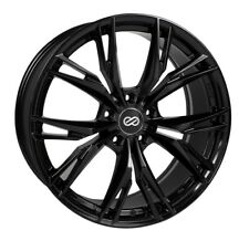 18x8 Enkei ONX 5x110 +40 Gloss Black Rims Fits HHR Cobolts G5 G6