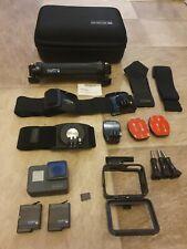GoPro Hero 5 Black 4K Waterproof Action Camera Hardly Used