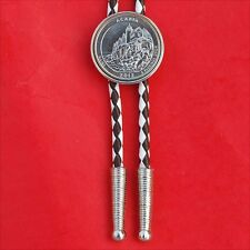 US 2012 Maine Acadia Quarter BU Coin Bolo Tie - America the Beautiful