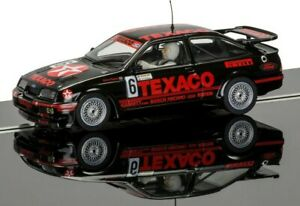 """New Scalextric 1:32nd Scale Ford Sierra RS500 """"Steve Soper"""" Brands Hatch Model."""