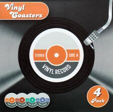 Vinyl Record Coasters Place Mats (Pack of 4) - Brand New