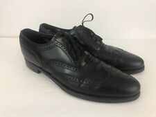 Florsheim Imperial Mens Wingtip Dress Shoes US 11.5 A Black Leather 92329