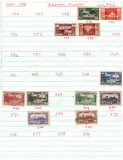 French Colonies LEBANON V.F. Mint & Used Air Mails Stamps Hinged on list #7