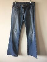 Lucky Brand Jeans Lowered Peanut Regular Fit Stretch Women's Size 8 29 Actual 32
