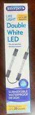 INTERPET HEALTHY FISH FOR LIFE LIFE LIGHT FOR AQUARIUM UP TO 20 GALLONS LED NIB