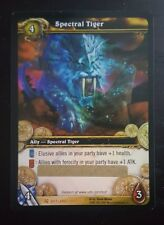 UNSCRATCHED Spectral Tiger Loot Card - World of Warcraft TCG
