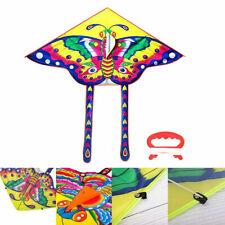 Kinder Drachen Flugdrachen drachenfliegen Drachenschnur Einleinerdrachen 90x50cm