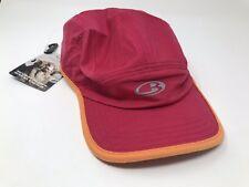 Icebreaker 98% Merino Wool AC Quantum Running Hat Unisex Men's Women's - NEW!