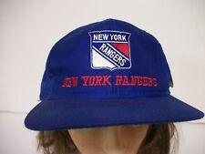 Vintage New York Rangers Snapback Baseball Cap with Original Tag