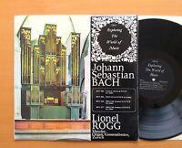 EXP 21 Lionel Rogg JS Bach Organ Works ORYX Stereo Vinyl NM/EX