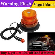 12V/60V LED Car Bus Beacon Strobe Emergency Warning Alarm Flash Light Amber