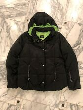 Women's Black Bogner Down Coat- Size 12
