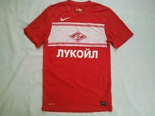 NIKE DRI FIT SPARTAK MOSCOW AUTHENTIC SOCCER JERSEY IN SIZE S