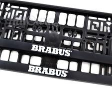 Mercedes-Benz C-Class BRABUS Frames Euro Standart License Plates NEW 2 pcs.