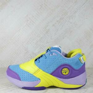 Junior Reebok x Ice Cream Answer V Blue/Purple Trainers (77C42) RRP £139.99