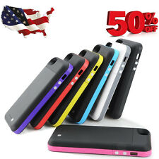 Smart Battery Case Stand Cover for Apple iPhone 5 2600mAh Bank 5S S Charger