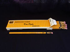 1 Dozen Eberhard Faber Van Dyke 601 #2  Pencil with Blackwing Eraser