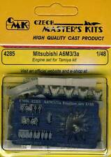 cmk Mitsubishi A6M3/3a Motore set 1:48 Modello kit Tamiya Parti di acquaforte