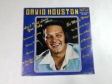 DAVID HOUSTON S/T LP Gusto Records SD-990X M- SEALED Folk/Country 3E