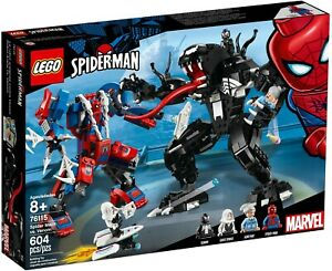 LEGO 76115 Marvel Super Heroes Spider-Man Spider Mech vs. Venom - Brand New