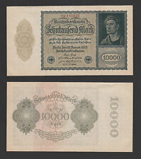 Germany 10,000 Mark ( 19th January 1922 ) P 72 - Aunc