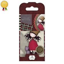 Gorjuss Rubber Mini Stamps *PURRRFECT LOVE* Little Girl, Cat, Card Making - 10
