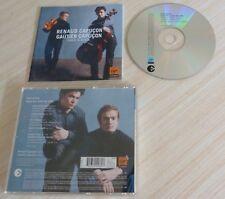 CD ALBUM FACE A FACE RENAUD GAUTIER CAPUCON DUOS FOR VIOLIN & CELLO 2003