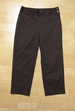 White House Black Market Legacy Cropped Capri Pants Brown Size 2