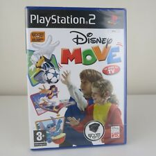 Disney Move Original Black Label Sony PlayStation 2 Ps2 PAL VGC