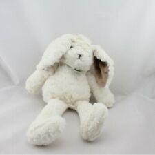 Doudou lapin blanc beige HISTOIRE D'OURS - Lapin Classique
