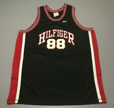 Vintage 90s Tommy Hilfiger #88 Spell-Out Basketball Swingman Jersey Size 2Xl