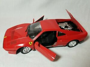 Polistil Ferrari GTO Series Diecast Model Car 01109 - 1:16 Scale - Red