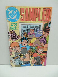 DC Comic Book Sampler 3 First Appearence John Constantine Hellblazer Swamp Thing